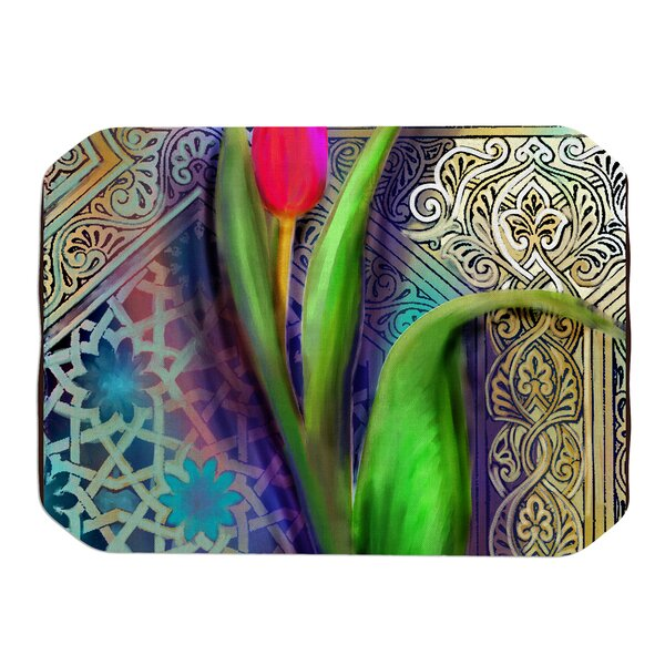 Arabesque Tulip Placemat by KESS InHouse