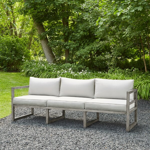 Monaco Patio Sofa With Cushions By Real Flame