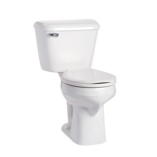Alto SmartHeight 1.6 GPF Round Two-Piece Toilet by Mansfield Plumbing Products