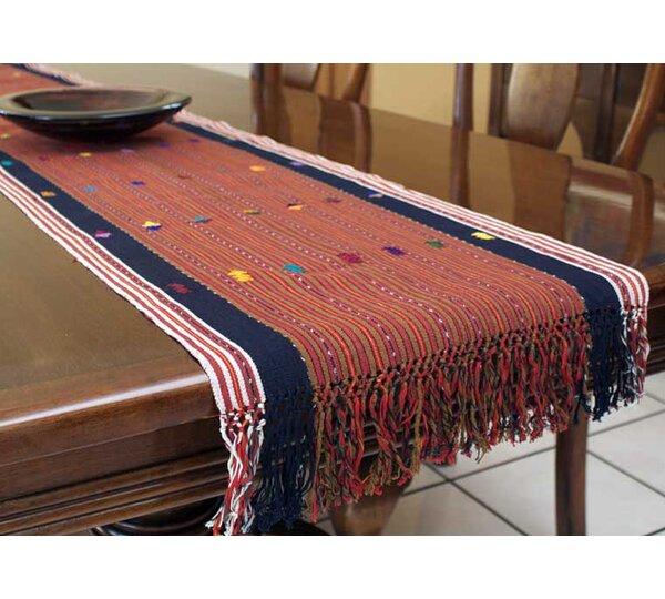 Weaving Cotton Table Runner by Novica