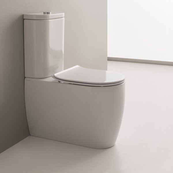 Moon 1.2 GPF Elongated Two-Piece Toilet by Scarabeo by Nameeks