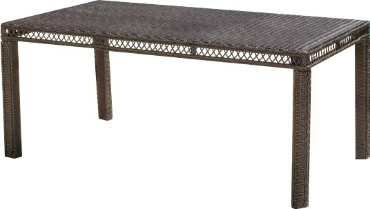 Enigma Outdoor Dining Table by Darby Home Co