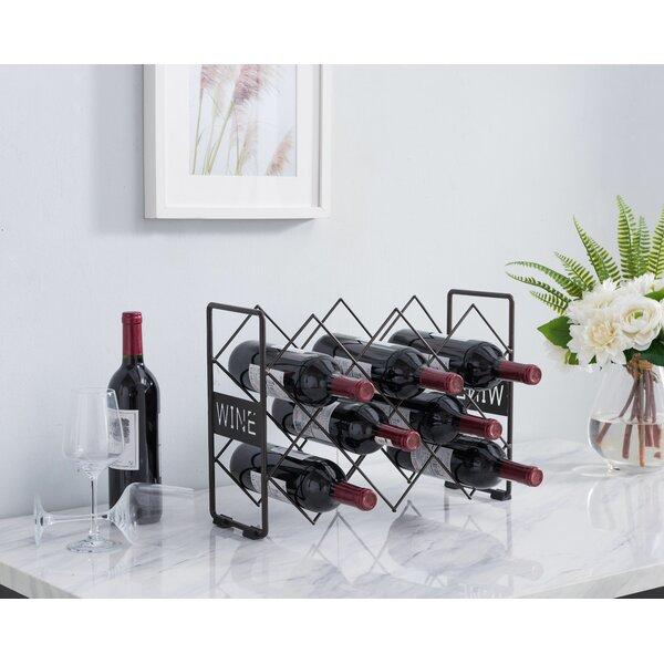 Sigmon 10 Bottle Tabletop Wine Bottle Rack by Winston Porter Winston Porter