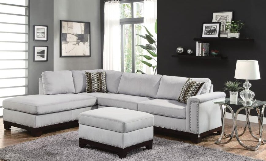 Clairsville Sectional With Ottoman By Rosdorf Park Where