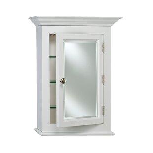 Bargain Wilshire I 22 x 27 Framed Medicine Cabinet By Afina