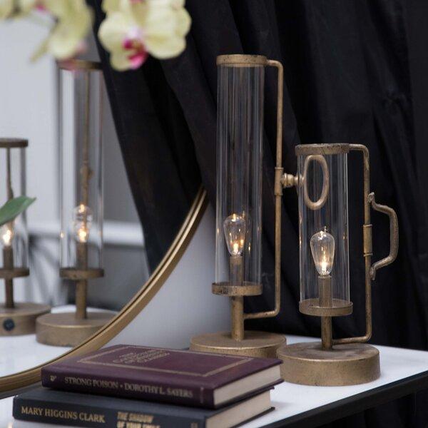 Metal 2 Piece Table Lamp Set by Gracie Oaks