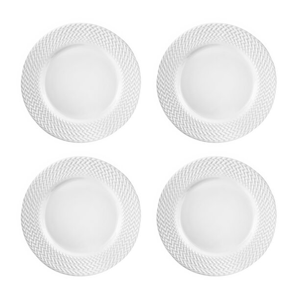 Bridgette 10.5 Dinner Plate (Set of 4) by Elle Decor