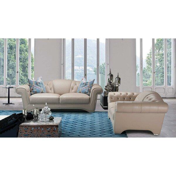 Review Laird 2 Piece Living Room Set