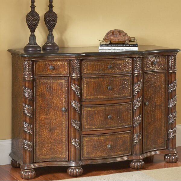 Spillman 2 Door 6 Drawer Accent Cabinet by Bay Isle Home