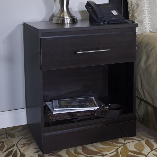 Chartres 1 Drawer Nightstand By Winston Porter by Winston Porter Wonderful
