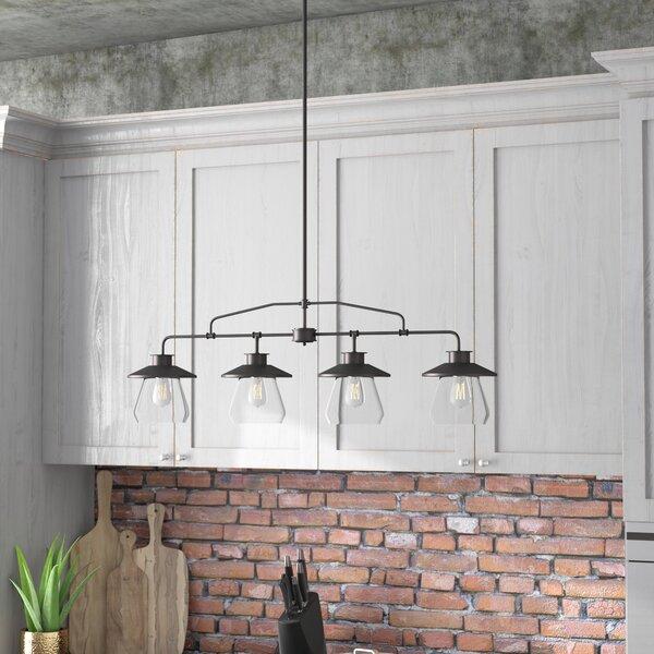 Wycoff 4-Light Kitchen Island Pendant by Trent Austin Design