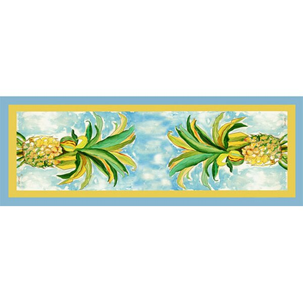 Pineapple Table Runner by Betsy Drake Interiors