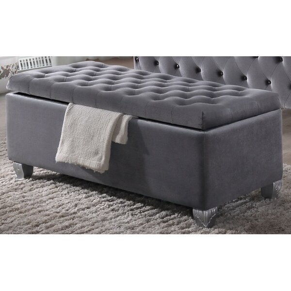 Salvador Upholstered Storage Bench by Rosdorf Park