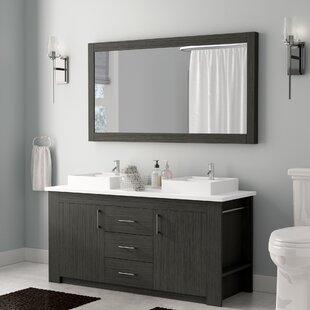 60 in double sink vanity. Save to Idea Board  Wade Logan Glen Ridge 60 Double Bathroom Vanity Inch Vanities You ll Love Wayfair