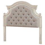 Murawski Upholstered Panel Headboard by Canora Grey