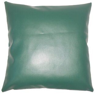 Floor Leather & Suede Throw Pillows You\'ll Love | Wayfair