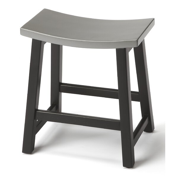 Adamstown Accent Stool by Ebern Designs
