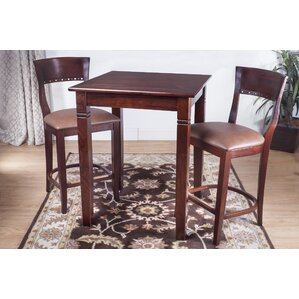 Rego 3 Piece Pub Table Set by Benkel Seating