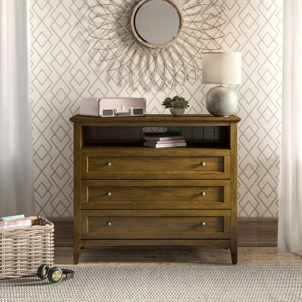 Callington 3 Drawer Media Chest by Birch Lane™ Heritage