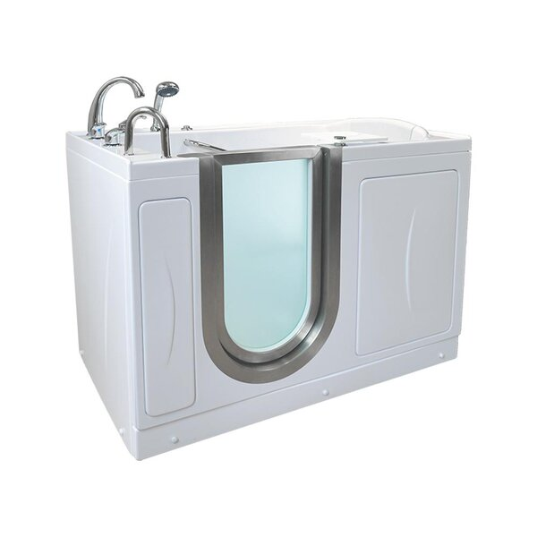 Elite Acrylic 30 x 52 Walk in Air Bathtub by Ella Walk In Baths