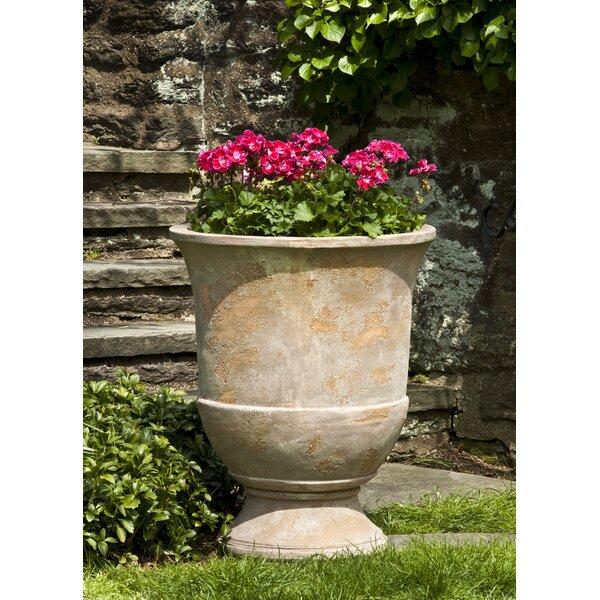 Waverley 2-Piece Terracotta Urn Planter Set by Fleur De Lis Living