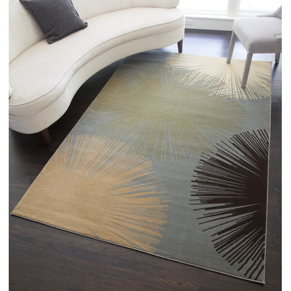 Jordan Light Blue Area Rug by Threadbind