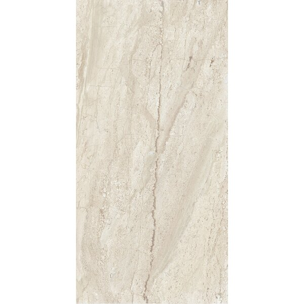 Versailles 12 x 24 Porcelain Field Tile in Trianon Creme by Interceramic