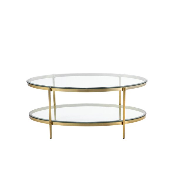 Caigan 4 Legs Coffee Table By Mercer41
