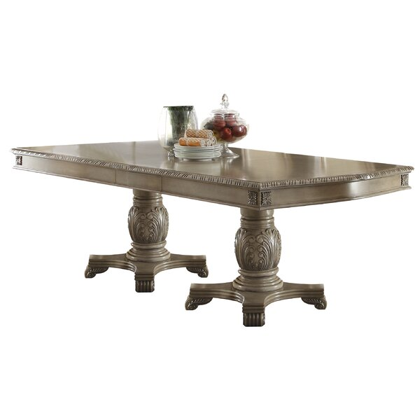 Caudillo Extendable Dining Table by Astoria Grand Astoria Grand