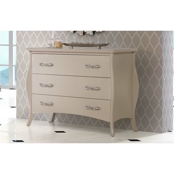 Wilmes 3 Drawer Double Dresser by Rosdorf Park