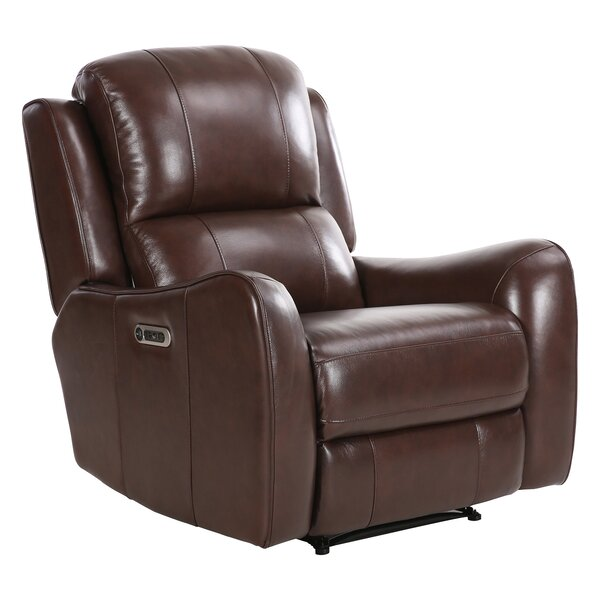 Monroe Street Power Wall Hugger Recliner [Red Barrel Studio]