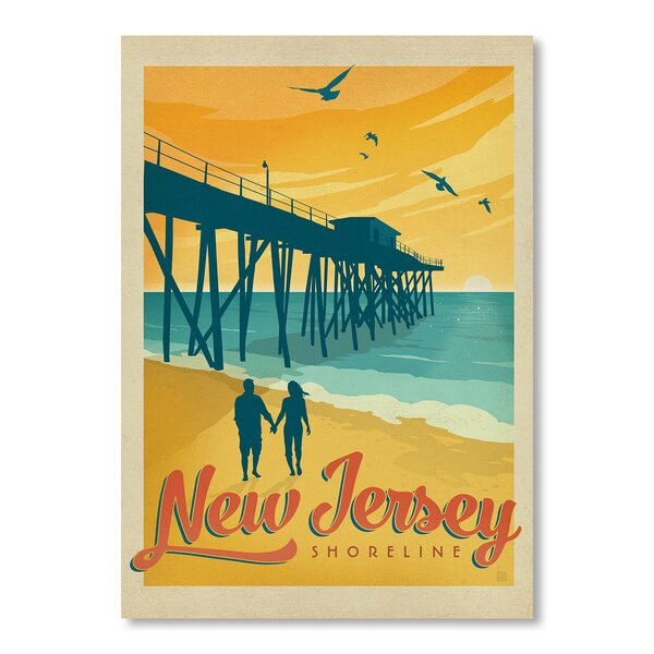 Jersey Shore Vintage Advertisement by East Urban Home
