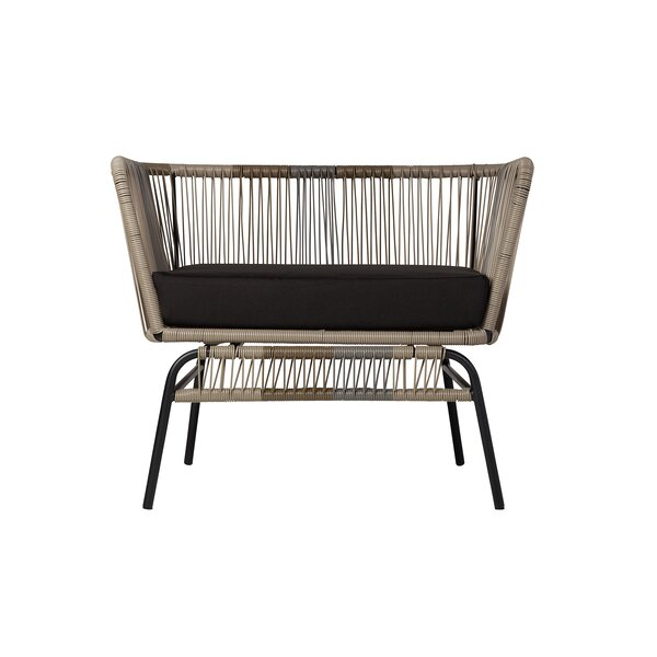 Harvey Patio Chair with Cushions by Modern Rustic Interiors
