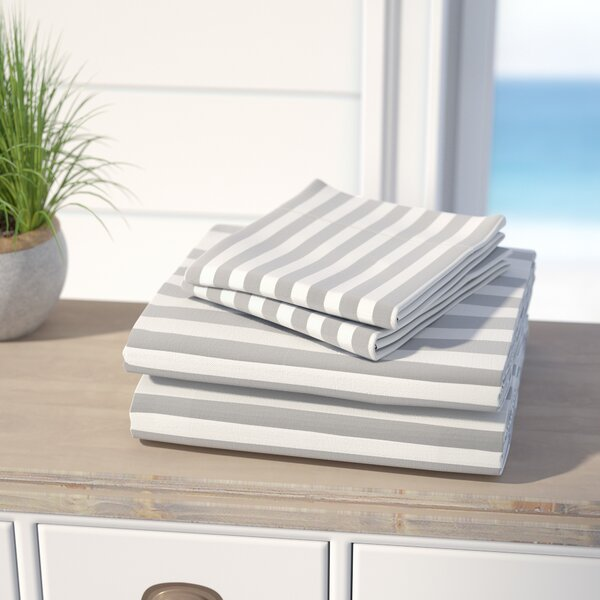 Ariel 600 Thread Count Cotton Blend Sheet Set by Beachcrest Home