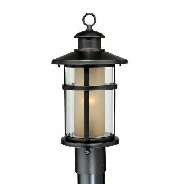 Enger Outdoor 1-Light Lantern Head by Breakwater Bay
