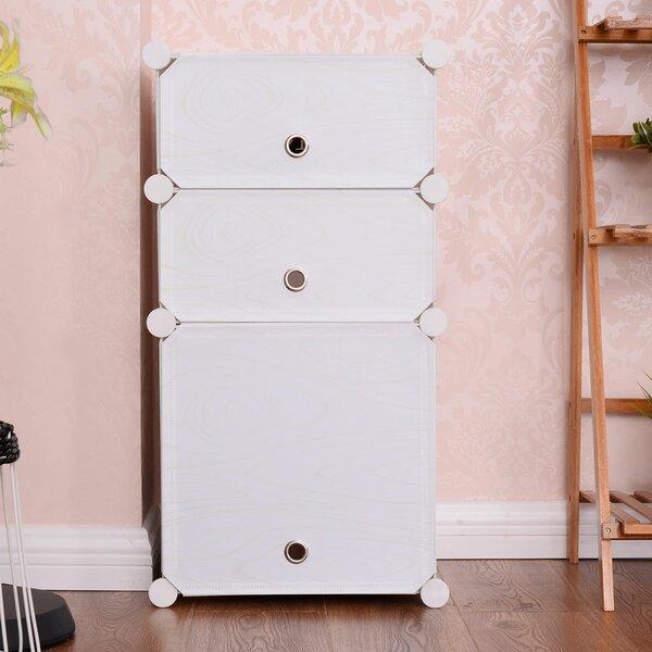 Eyler Clothes Closet 3 Cube Unit Bookcase by Rebrilliant