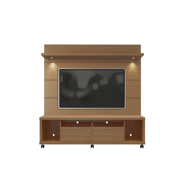 Julius Entertainment Center with LED Lights by Wade Logan