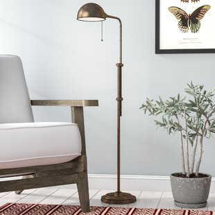 Brass pharmacy floor lamp wayfair save to idea board mozeypictures Choice Image