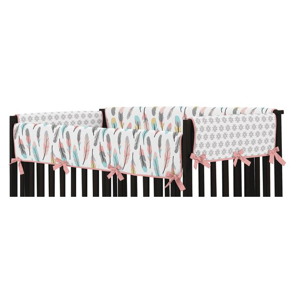 Feather Rail Guard Cover (Set of 2) by Sweet Jojo Designs