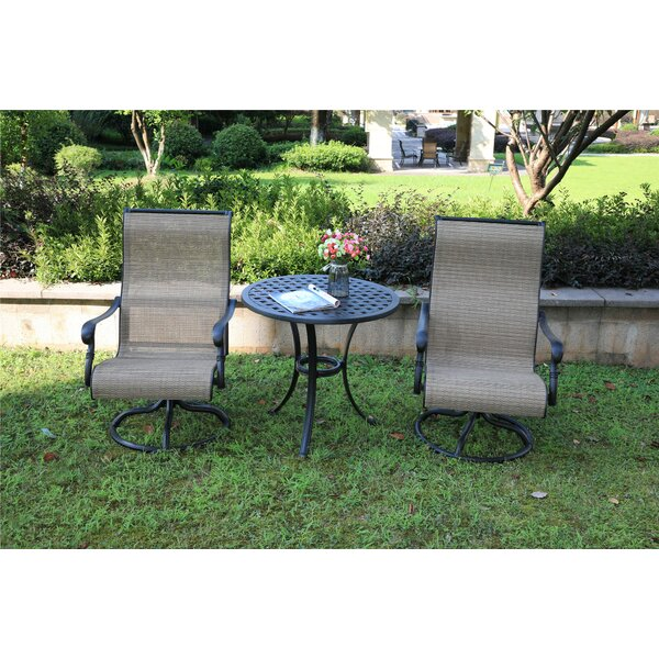 Baye 3 Piece Bistro Set