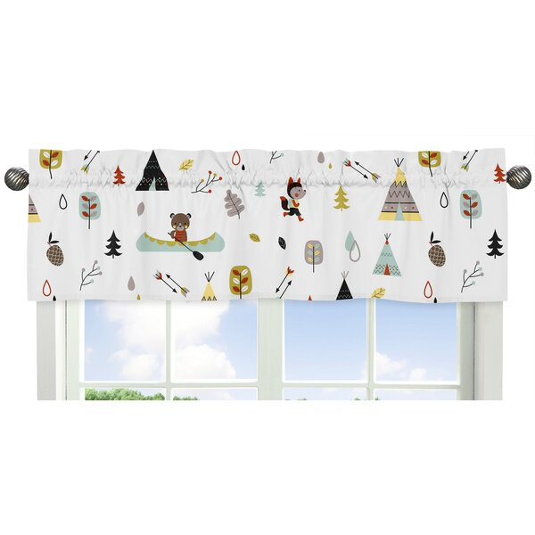 Outdoor Adventure 54 Window Valance by Sweet Jojo Designs
