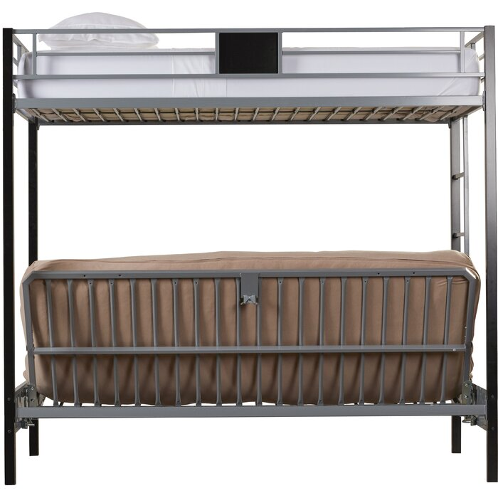 Elya Twin Over Full Futon Bunk Bed