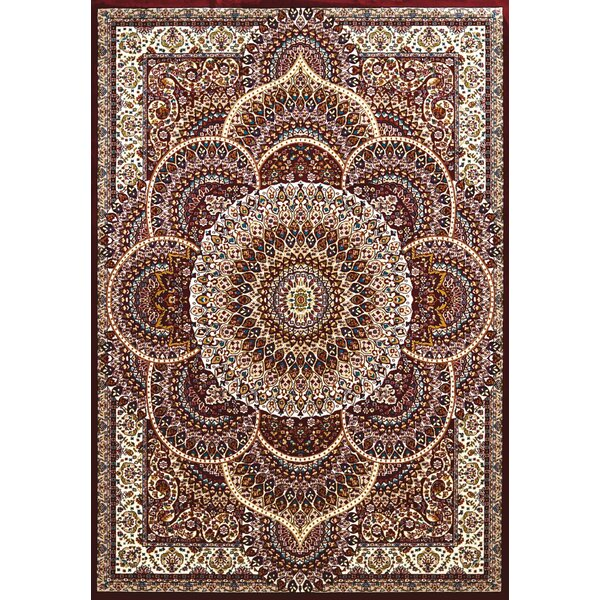 Antiquities Red/Beige Area Rug by United Weavers of America