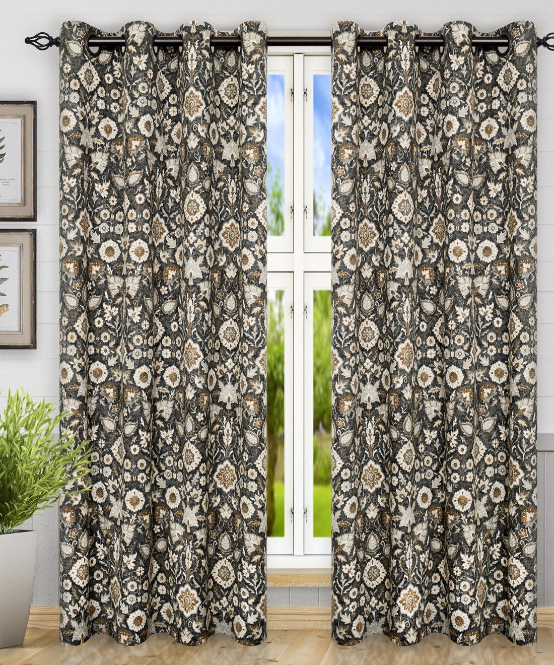 grommet click large single grommetcurtain embroidered sightly semi overstock size of fabric to wide sheer curtains lombard on window floor expand zq curtain fancy panels