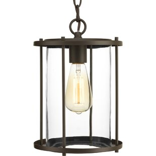 Check Prices Madsen 1-Light Outdoor Hanging Lantern By Gracie Oaks