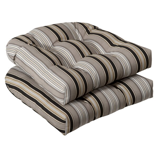 Tadley Indoor/Outdoor Dining Chair Cushion (Set of