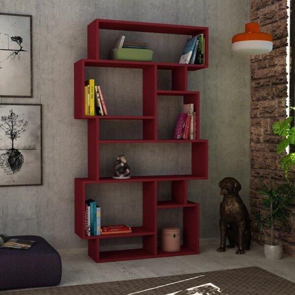 Aryan Modern Geometric Bookcase By Brayden Studio