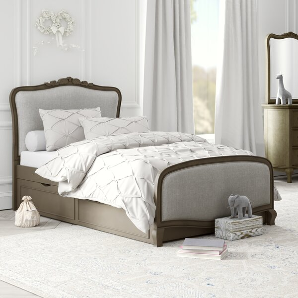 Burks Twin Panel Bed with Trundle by Kitsco