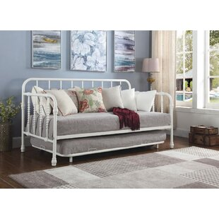 Trever Metal Twin Daybed with Trundle