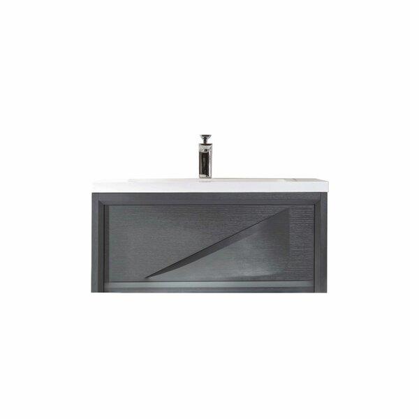 Filip 37 Wall-Mounted Single Bathroom Vanity Set